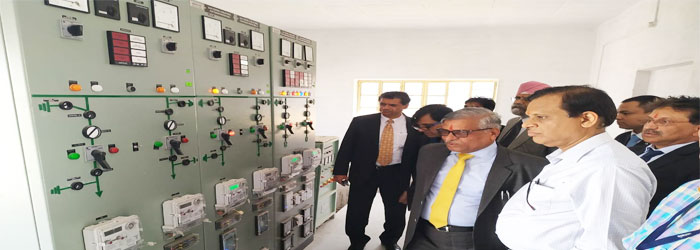 Visit of CMD, PFC along with Directors, PFC at 33/11 Kv PSS Balicha,  Udaipur on 03-Mar-2019